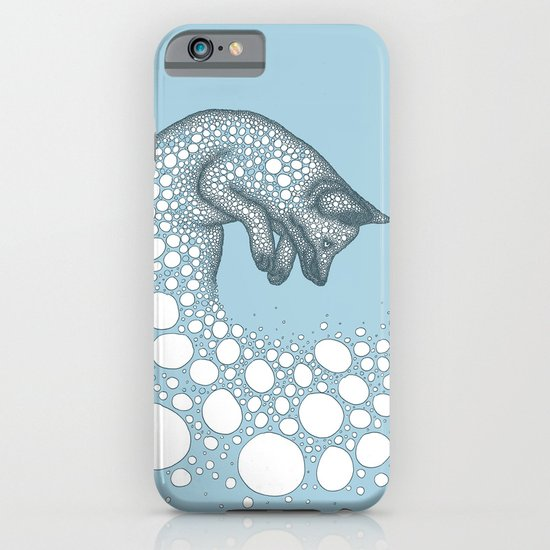 Jumping fox iPhone & iPod Case
