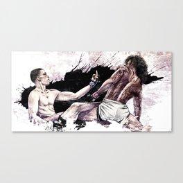 Nate Diaz vs. Benson Henderson Canvas Print