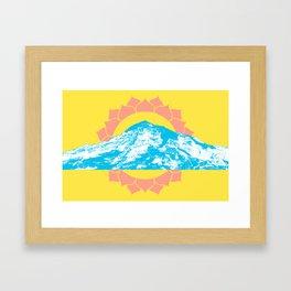 Mt. Rainier Framed Art Print