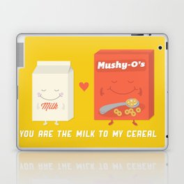 You Are The Milk To My Cereal Laptop & iPad Skin
