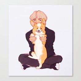 Tae + Chopa Canvas Print