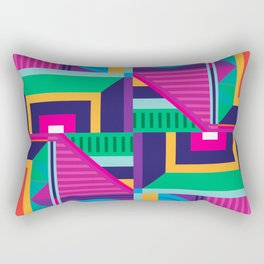 Geometric Colorfull Pattern I Rectangular Pillow