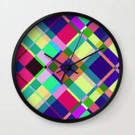 Pastel Interaction Wall Clock