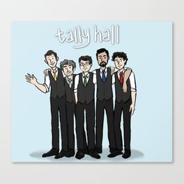 Tally Hall Group Shot Canvas Print