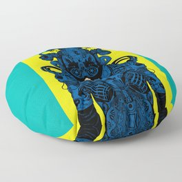 Outfit of the Day Floor Pillow
