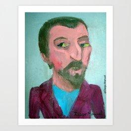 Paul Gauguin por Diego Manuel Art Print