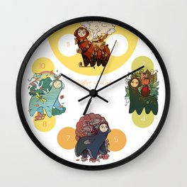 nature is love Wall Clock