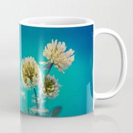 White Flowers - Meera Mary Thomas Design Coffee Mug