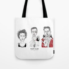 The First rule is - Triptych Tote Bag