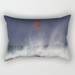 Let's go fly a surfboard on the North Shore. Rectangular Pillow