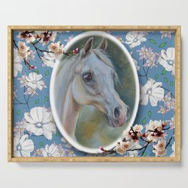 Spring Horse Serving Tray