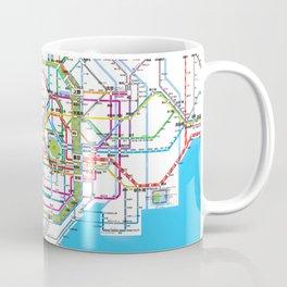 Tokyo Subway map Coffee Mug