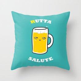 RUTTA SALUTE Throw Pillow