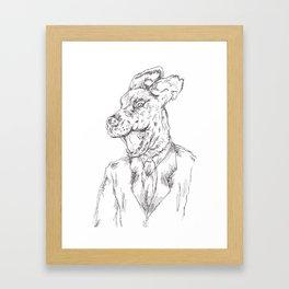 Unleashed 2 Framed Art Print