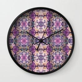 Butterfly Kiss Wall Clock