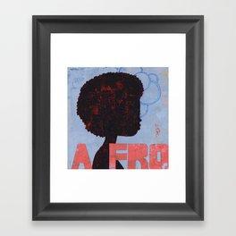 A FRO Framed Art Print