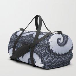 Fractal Art - Glacier I Duffle Bag