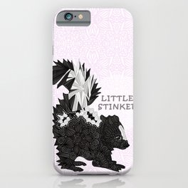 Little Stinker -pink- iPhone Case