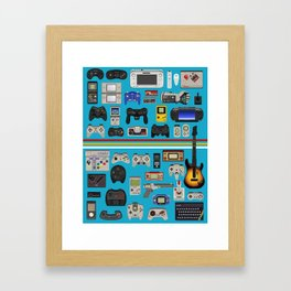 Select your weapon Framed Art Print
