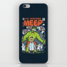 Incredible Meep iPhone & iPod Skin