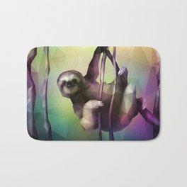 Sloth (Low Poly Multi) Bath Mat