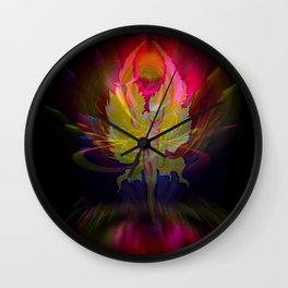 Flowersmagic - Rose Wall Clock
