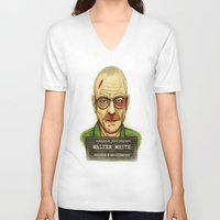 breaking bad V-neck T-shirts featuring Breaking Bad. by Lydia Dick
