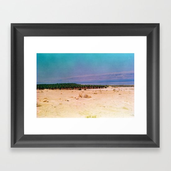 Dreamy Dead Sea III Framed Art Print