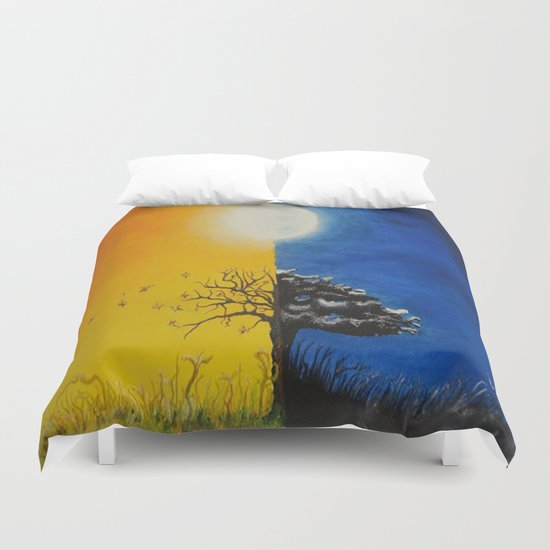 Sunset Sunrise Duvet Cover