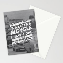 Hope For The Human Race Stationery Cards