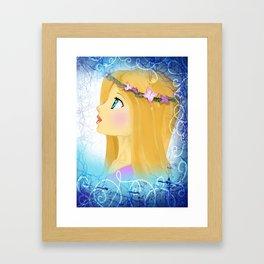 The Iron Queen Framed Art Print