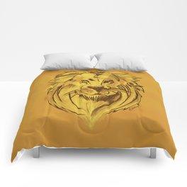 Golden King   Rei dourado Comforters