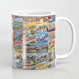Greetings From Postcards Coffee Mug