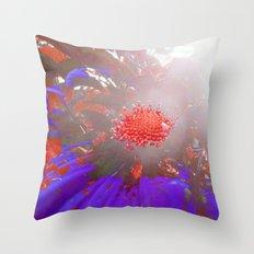 FlowerPower Fantasy 8 Throw Pillow