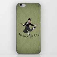 putin iPhone & iPod Skins featuring Putin on the Ritz by Ellie Bockert Augsburger