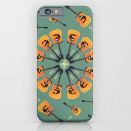 Guitar Spiral Design iPhone Case