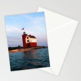 Round Island Lighthouse Stationery Cards