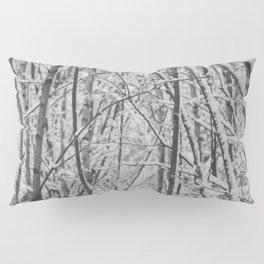 Woodland snow Pillow Sham