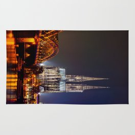 Cologne Cathedral at night Rug