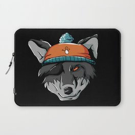 Winter Wolf Wild Dog Wolf Pack Mountains Cold Snow Laptop Sleeve