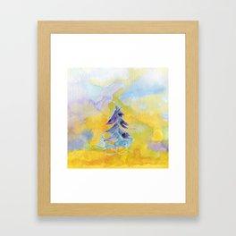 Joy Overflowing Framed Art Print