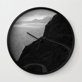 Funchal from Garajau Wall Clock
