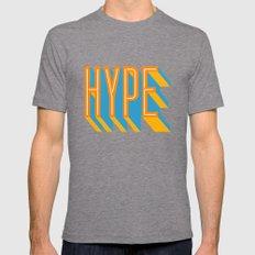 HYPE MEDIUM Tri-Grey Mens Fitted Tee