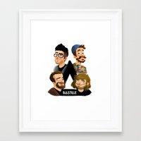 bastille Framed Art Prints featuring Bastille  by Murray