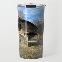 Virginia Covered Bridge Travel Mug