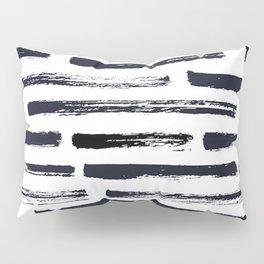 MINIMAL + MONOCHROME DRY BRUSH PATTERN Pillow Sham