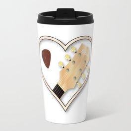 Love Guitar Travel Mug