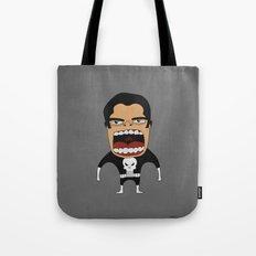 Screaming Punisher Tote Bag