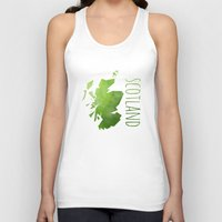 scotland Tank Tops featuring Scotland by Stephanie Wittenburg