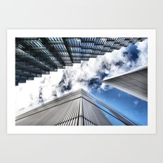 Look Up London Art Print
